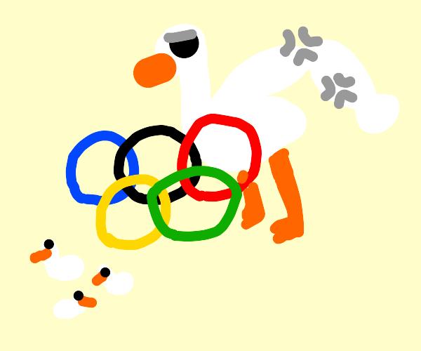 Mother Goose Olympian