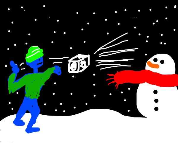 Futuristic Snowball