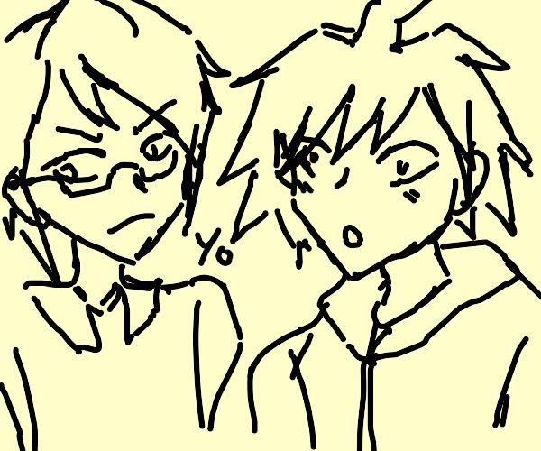 2 anime dudes