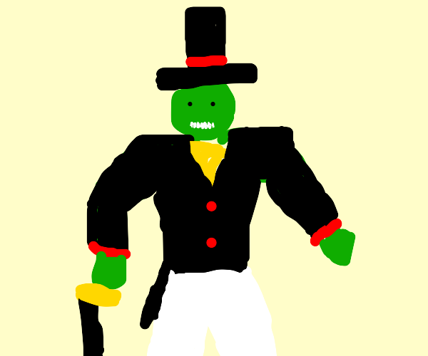 ogre/orc with a top hat