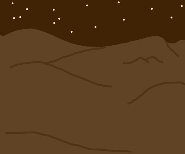 Desert nightseen