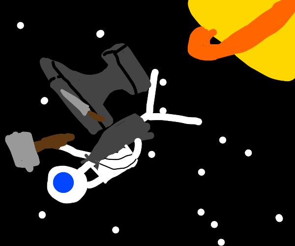 space blacksmith