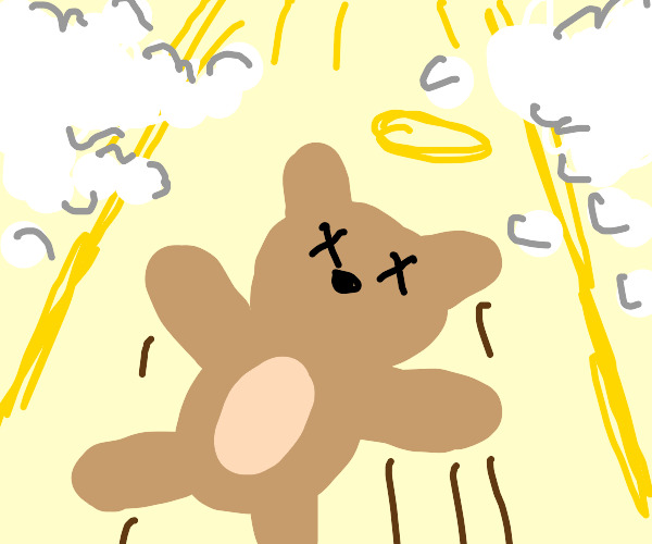 Teddy goes to heaven