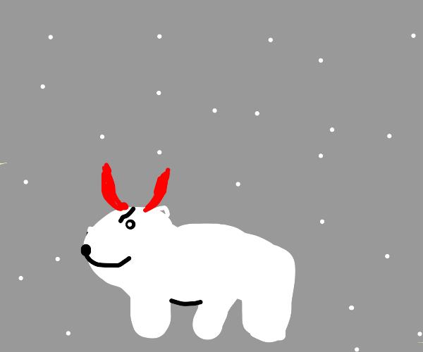 Evil Polar Bear