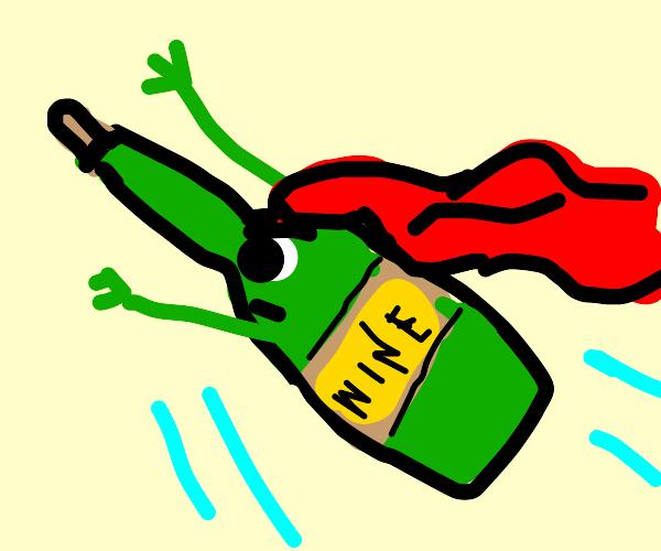 Wine Superhero
