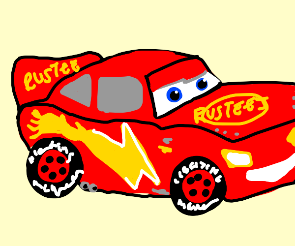 Lightning McQueen lost his 95