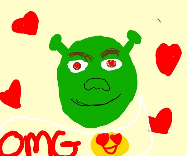 Shrek simping