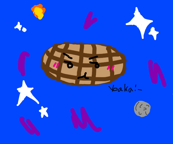 tsundere space waffle