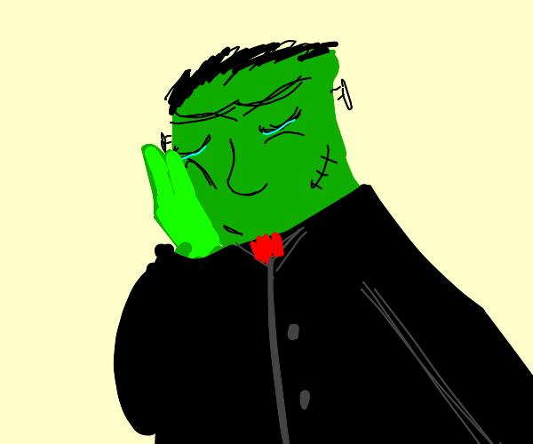 Frankenstein is depresso