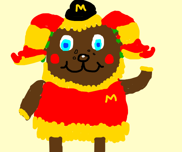 Frita The Fast Food Villager