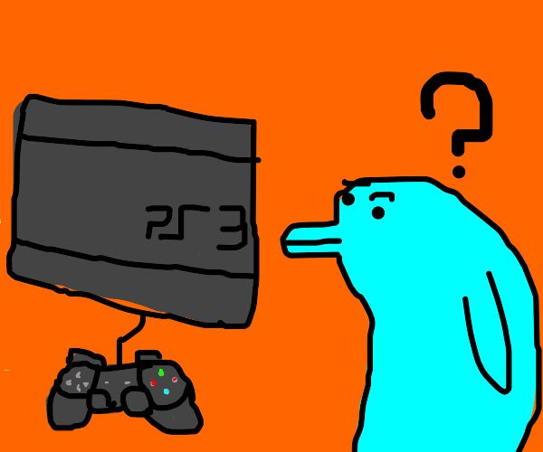 dolphin is curious about PS3