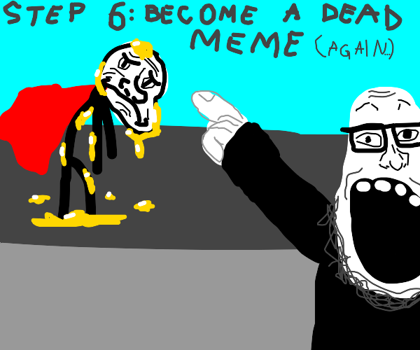 step 5: become oil inspired superhero