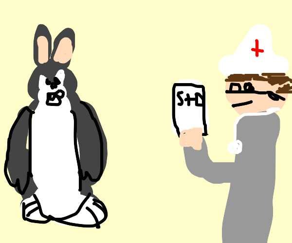 Big Chungus gets bad news from the Doctor
