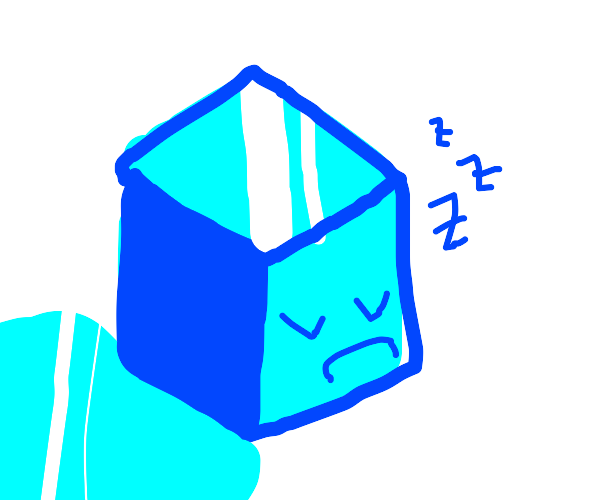 Sleepy Icecube