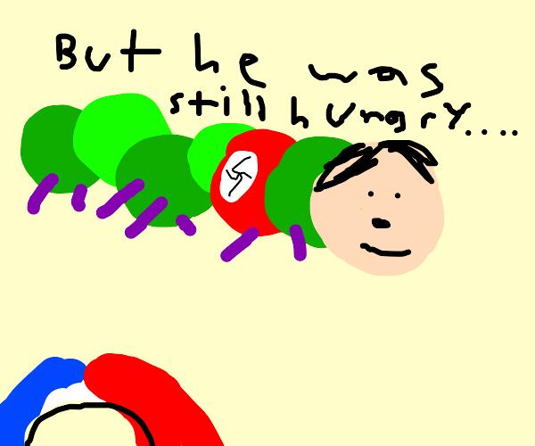 hitler caterpillar