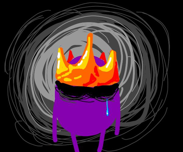Crown-Wearing Grape Sheds a Tear