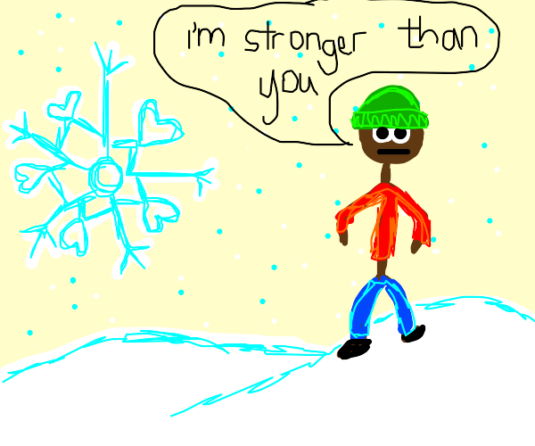 assert dominance on snowflake or be destroyed