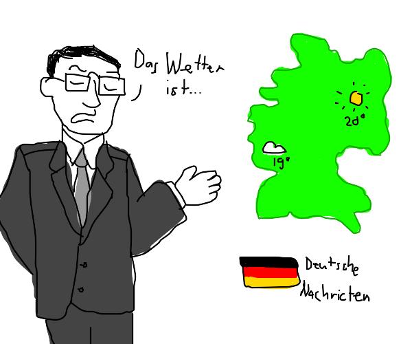 German Weatherman