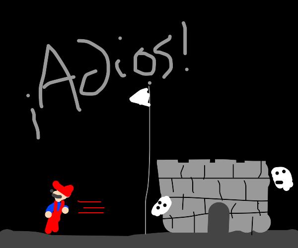 Bye, castle!