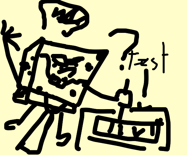 doodle bob is bad at tests