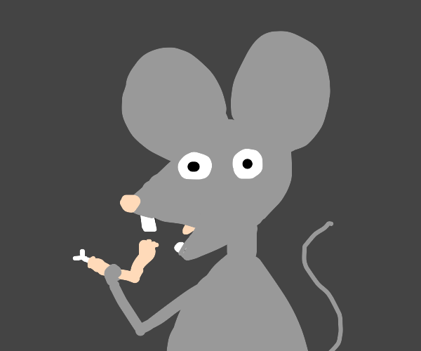 Mouse tries to eat someones foot