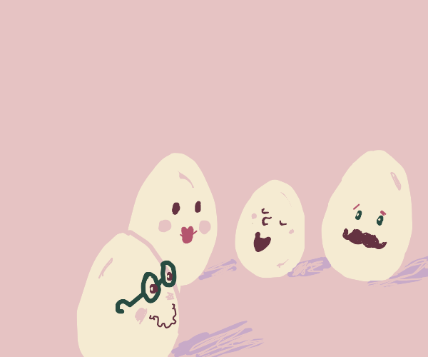 Eggs being better at socialising