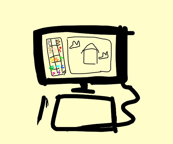 """""""What's your favourite hobby?"""" """"drawception"""""""