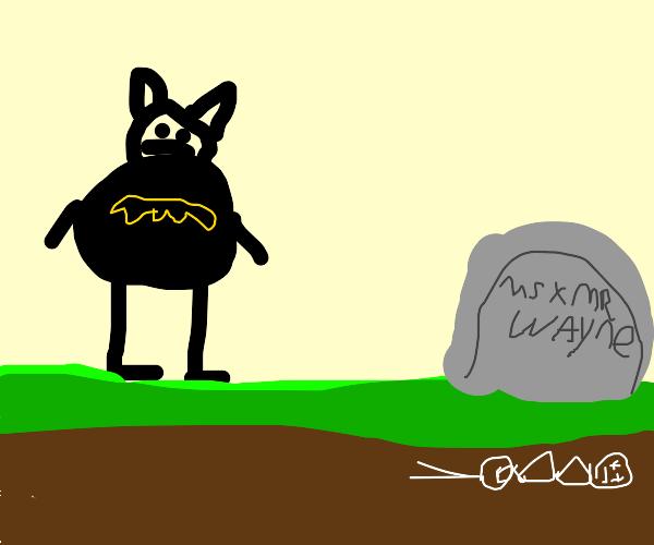 visiting parents grave