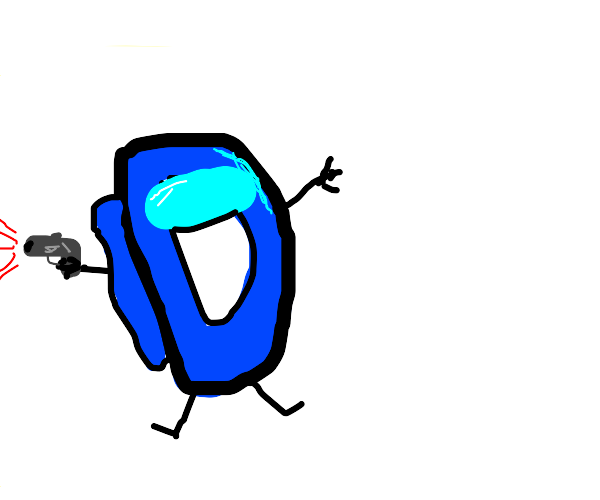 among us imposter drawception D