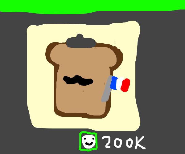 French toast gets 200K emotes
