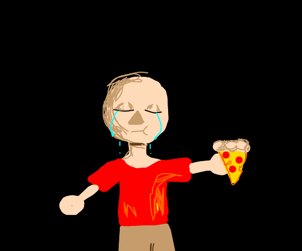 Step 9: eat pizza and cry some more