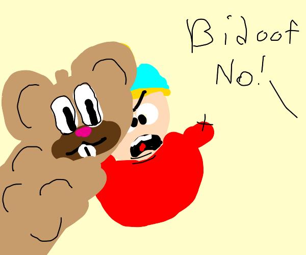 Bidoof photobombs your current drawing