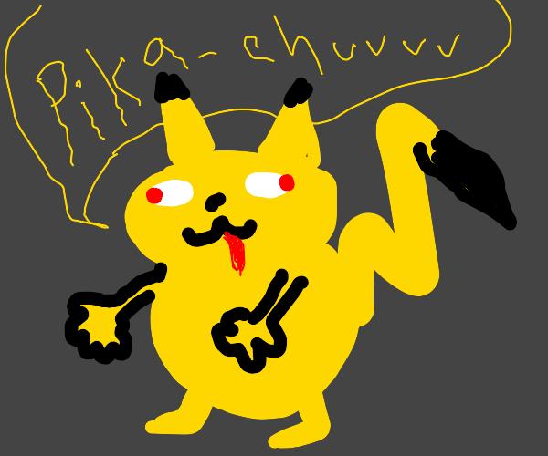 Crappy pikachu