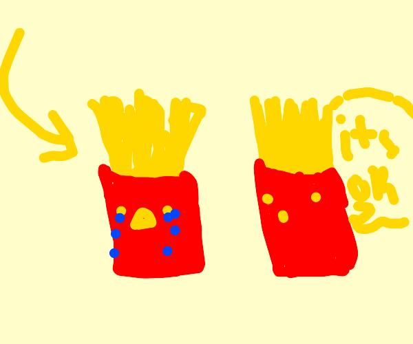 Sad fries