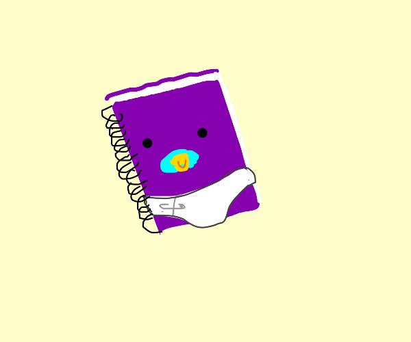notebook baby