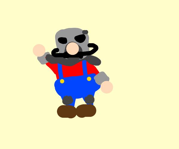 Mario survives nuclear war