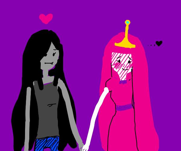 Marceline & Bubblegum Princess