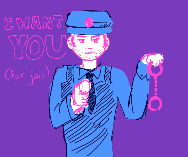 I arrest you