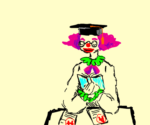 Educated clown