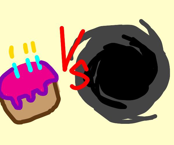 Cake vs the Void