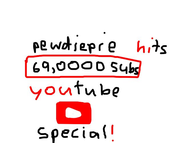 pewdiepie's 69 million sub special