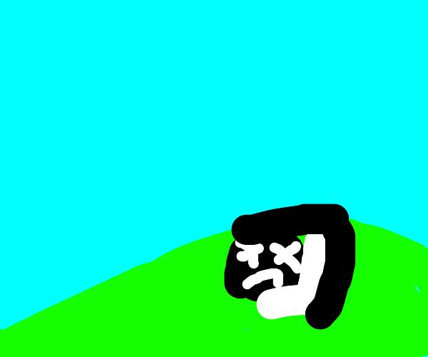 oreo cookie man dead in a field