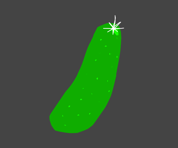 polished and waxed pickle