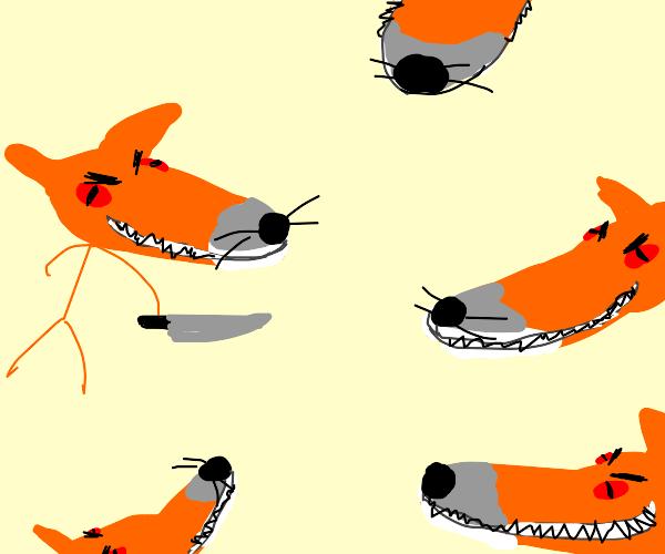 Satanic foxes