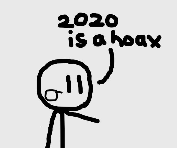 Tough man cares nothing about 2020