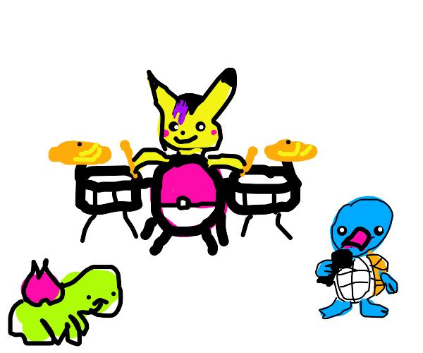 pokemon band