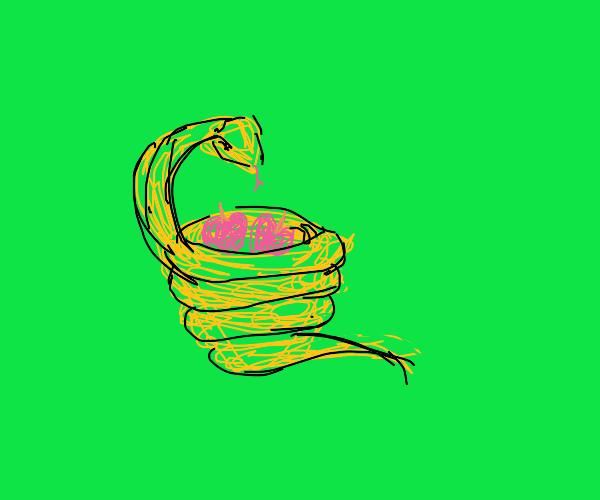 Vegeterian snake