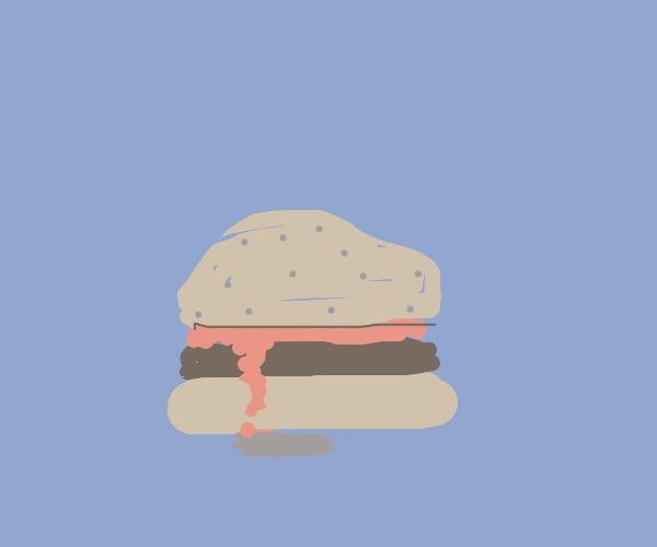 Burger juice