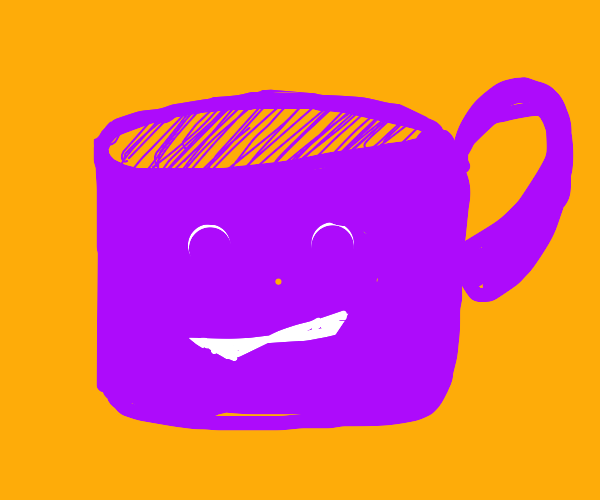 An amused cup