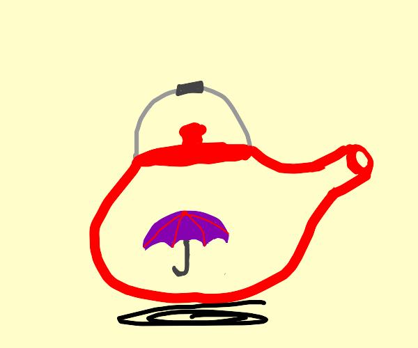 Umbrella in a Teapot